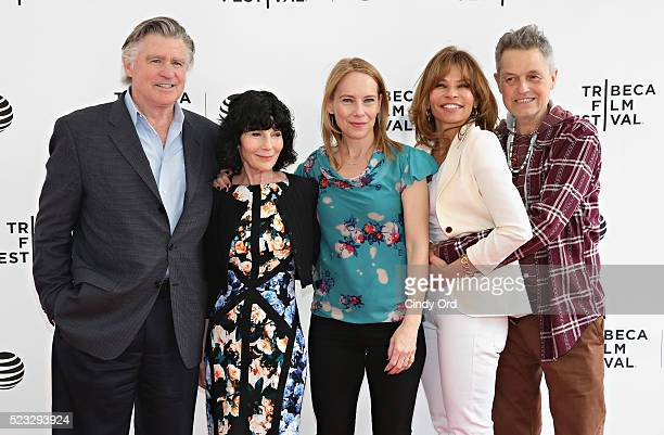 Treat Williams Nancy Buirski Amy Ryan Jenny Lumet and Jonathan Demme attend Tribeca Talks After The Movie By Sidney Lumet during the 2016 Tribeca...