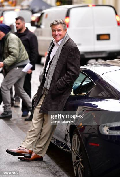 Treat Williams seen on location for 'Second Act' in SoHo on December 5 2017 in New York City