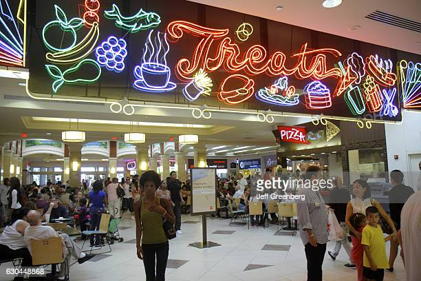 Treats entrance at the food court in Aventura Mall