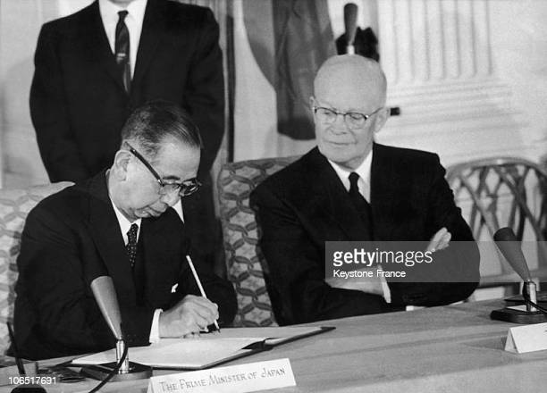 Treaty Of Mutual Cooperation And Security Between The United States And Japan Signed In Washington January 19Th 1960