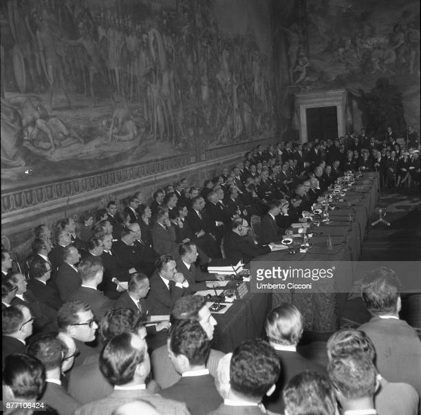 Treaty of Rome signed on 25TH March 1957 at the Capitoline Hill in Rome Italy Treaty establishing the European Economic Community is an international...