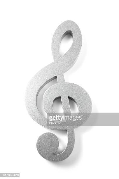chiave di violino - chiave di violino foto e immagini stock