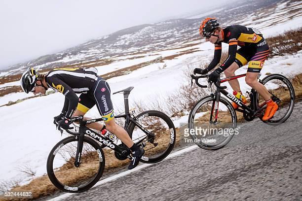 Tredje etappe mellom Skien og Rjukan i Tour of Norway 2015 Fjelletappe over Gaustatoppen FOTO KRISTOFFER ØVERLI ANDERSEN / TOUR OF NORWAY