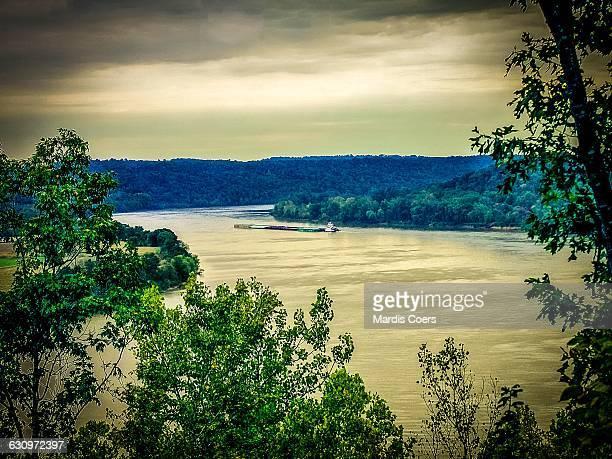 tree gazing  - オハイオ川 ストックフォトと画像