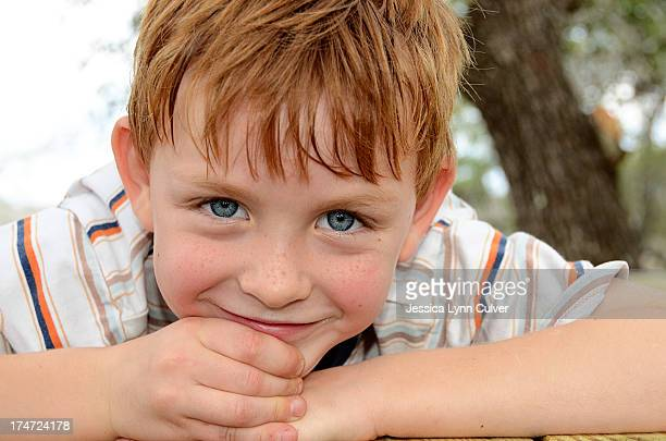 tree house boy - ginger lynn stock pictures, royalty-free photos & images