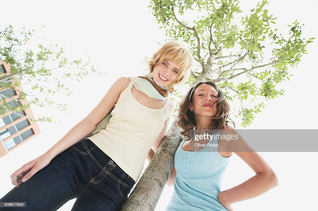 Tree Huggers : Foto de stock