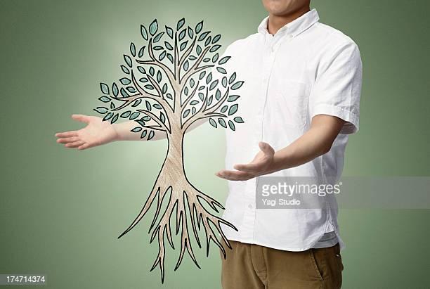 Tree men and