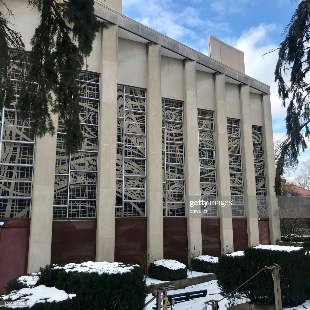 Tree of Life Synagogue in Pittsburgh : Stock Photo