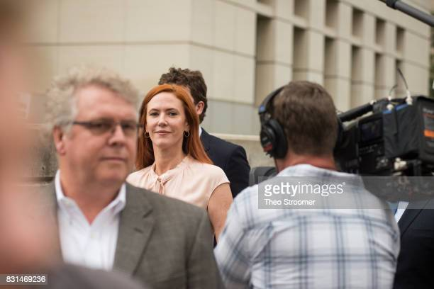 Tree Paine Taylor Swift's publicist leaves the courthouse following the verdict of the civil case of Taylor Swift vs David Mueller at the Alfred A...