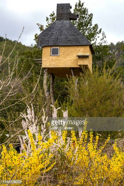Treehouse at Moriya Historical Museum - The Moriya Historical Museum archives and publishes documents that have been transmitted by the Moriya family...