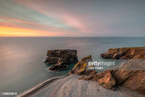 Trefor rock Pinicle at Sunset