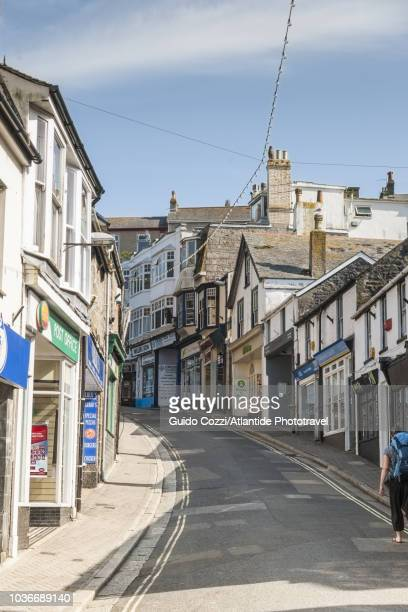 tregenna hill - st. ives cornwall stock pictures, royalty-free photos & images