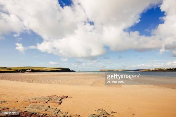 Tregirls Beach near Padstow in September