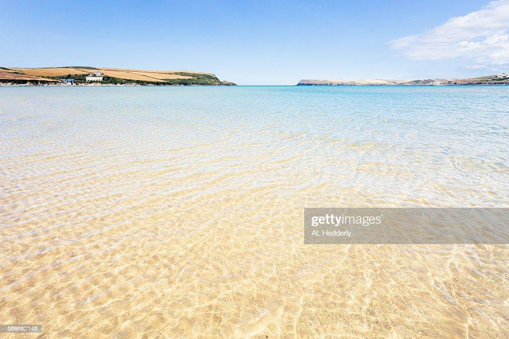 Tregirls beach near Padstow : Stock Photo
