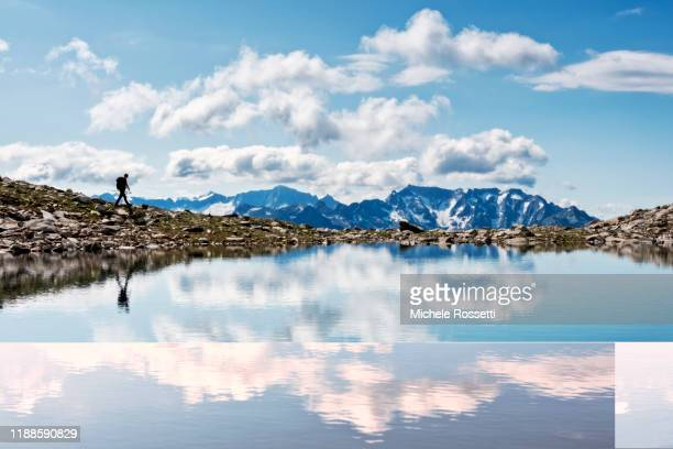 trekker - lombardy stock pictures, royalty-free photos & images