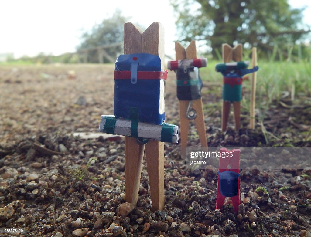 Trekkers : Stock Photo