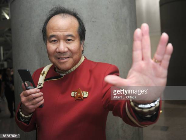 Trekkie David Cheng on day 2 of Stan Lee's Los Angeles Comic Con 2017 held at Los Angeles Convention Center on October 28 2017 in Los Angeles...