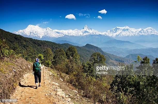 Trekking in Nepal Annapurna Himalayan Range