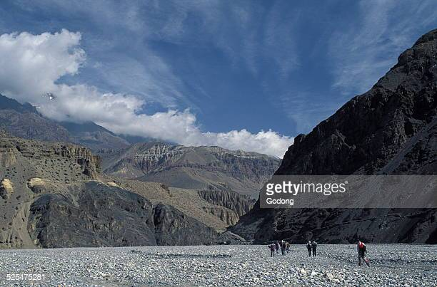 Trekking in the Kali Gandaki Gorges Mustang