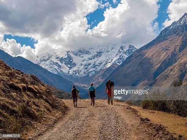 Trekking na Andes Peruana