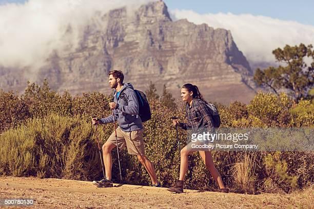 Trekking through nature together