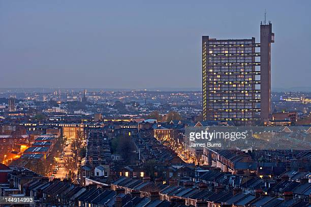 Trellick Tower from South Kilburn
