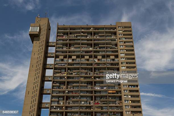 Trellick Tower in North Kensington in London Picture taken in June 2013