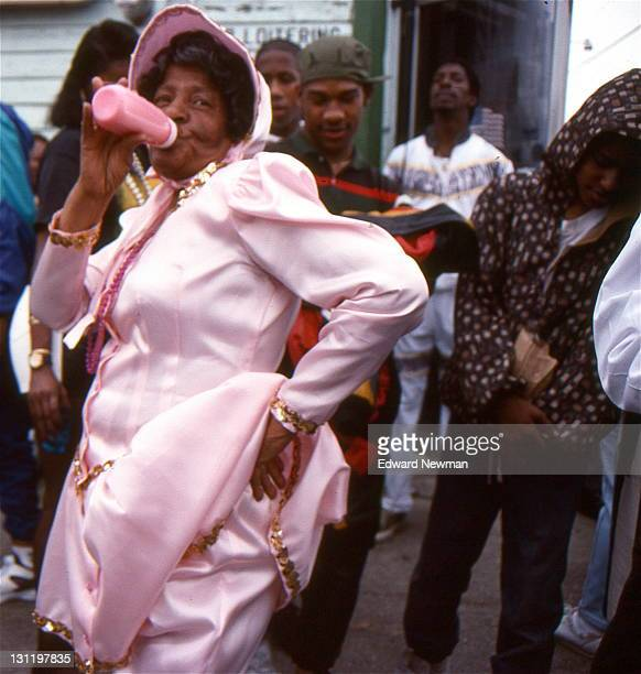 Treme New Orleans Mardi Gras 1992 That's not milk