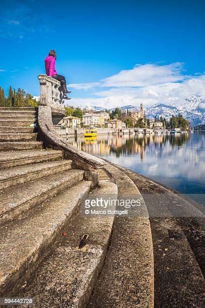Tremezzo, lake Como, Lombardy, Italy.