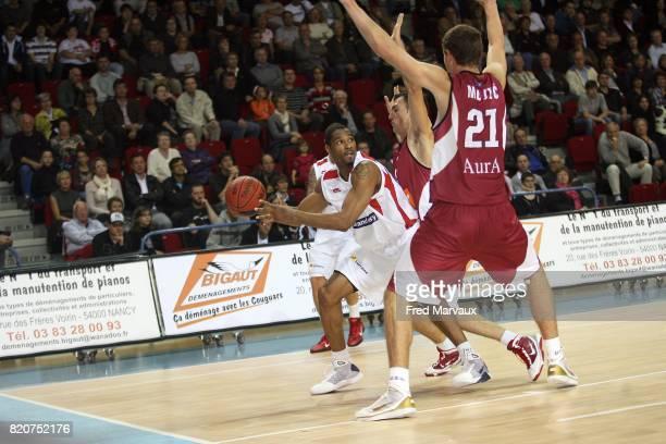 Tremmell DARDEN - - Nancy / Sarajevo - Eurochallenge - Match Retour - Palais des sports Jean Weille,