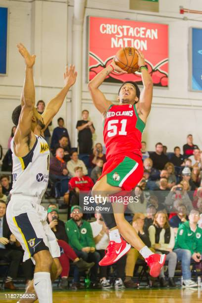 Tremont Waters gives the Maine Red Claws a 4point lead with 35 seconds to play against the Ft Wayne Mad Ants in the 20192020 season home opener on...