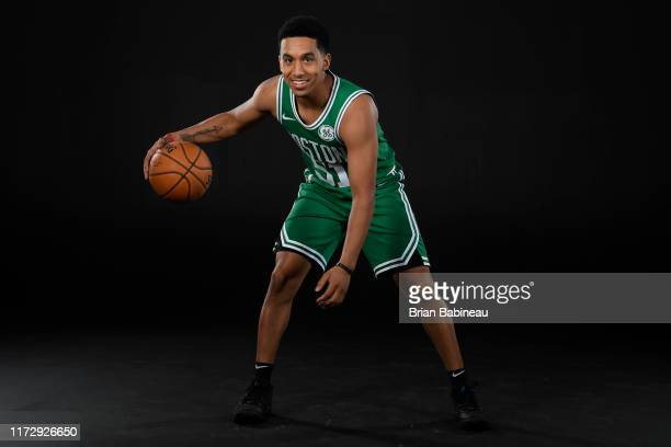 Tremont Waters of the Boston Celtics poses for a portrait on September 30 2019 at High Output Studios in Canton Massachusetts NOTE TO USER User...