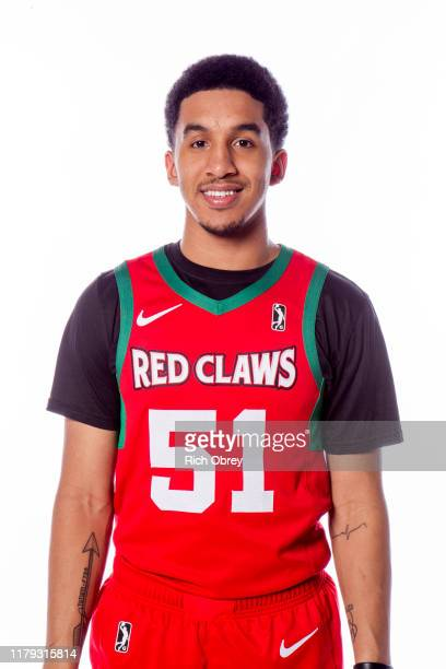 Tremont Waters of the Maine Red Claws poses for a photo during Media Day on October 31 2019 at the Portland Expo in Portland Maine NOTE TO USER User...