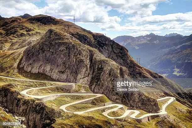 tremula, st gotthard pass - mountain road stock pictures, royalty-free photos & images