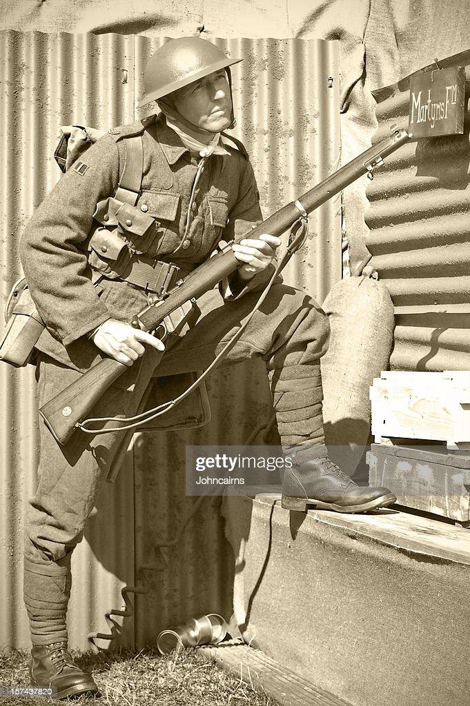 Soldat de la tranchée : Photo