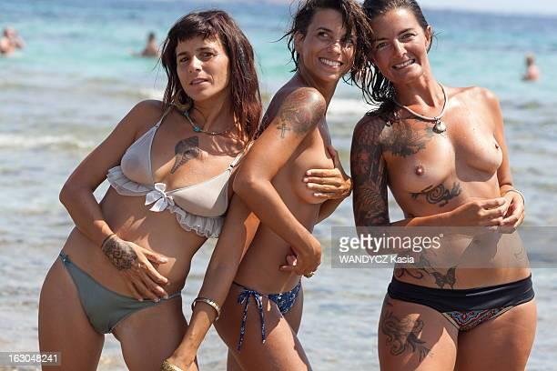 Fashion Tattoos In Ibiza Ibiza juillet 2012 apanage des marins et des marlous le tatouage enlumine désormais les peaux les plus délicates pour...