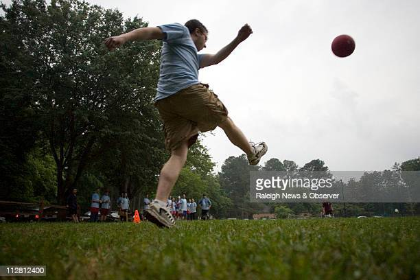 Trend watchers say people will be looking for new ways to get their exercise in 2011 including adult recess sports teams such as kickball Sean...