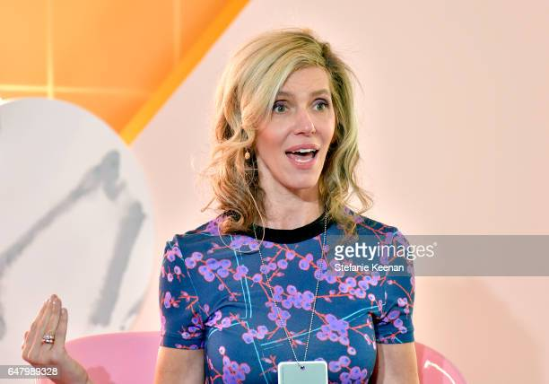 Trendera CEO Jane Buckingham speaks onstage at the inaugural Girlboss Rally on March 4 2017 in Los Angeles California