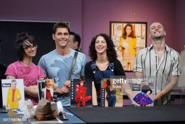 RUNWAY Trendsetter Episode 404 Aired Pictured Christian Siriano Jack Mackenroth Jillian Lewis Rami Kashou