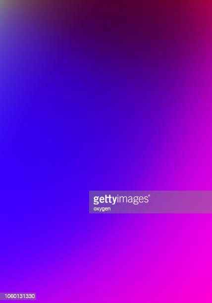 trendy colorful holographic abstract background - 紫 ストックフォトと画像