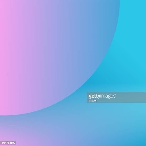 Trendy colorful Holographic abstract background