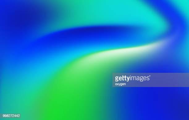 trendy colorful holographic abstract background - verde color fotografías e imágenes de stock