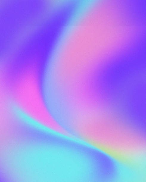 trendy colorful holographic abstract background - 彩色影像 個照片及圖片檔
