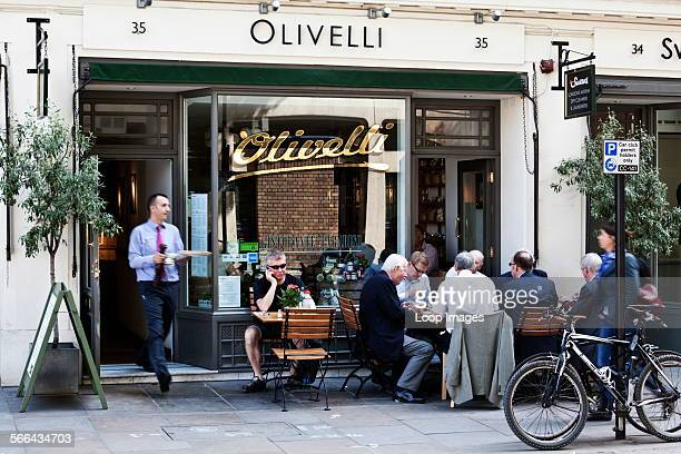 A trendy Sicilian restaurant in Store Street
