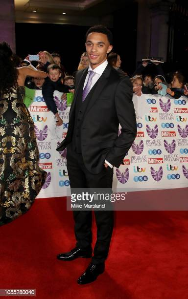 Trent AlexanderArnold attends the Pride of Britain Awards 2018 at The Grosvenor House Hotel on October 29 2018 in London England