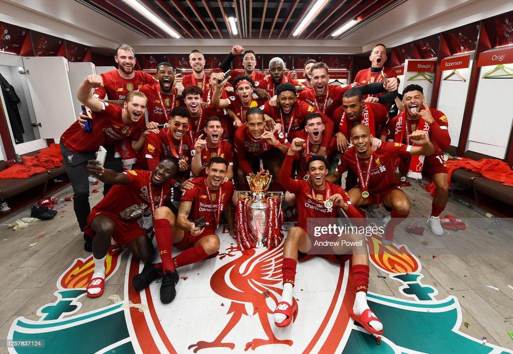 Liverpool FC v Chelsea FC - Premier League : Nieuwsfoto's