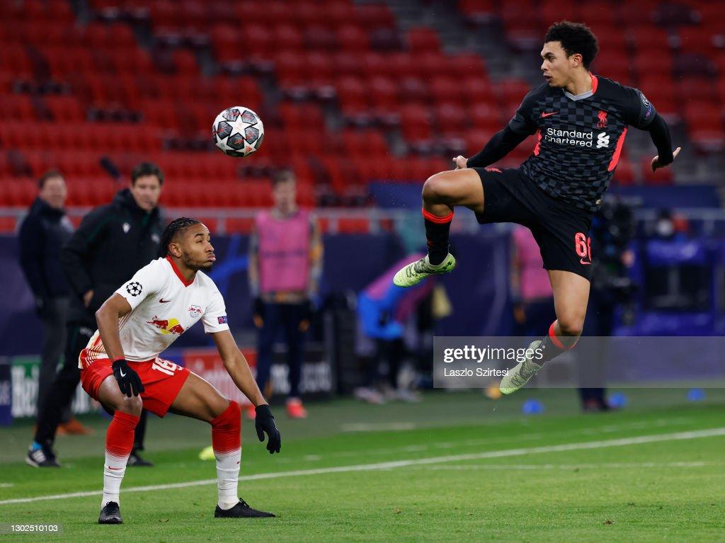 RB Leipzig v Liverpool FC  - UEFA Champions League Round Of 16 Leg One : Nachrichtenfoto