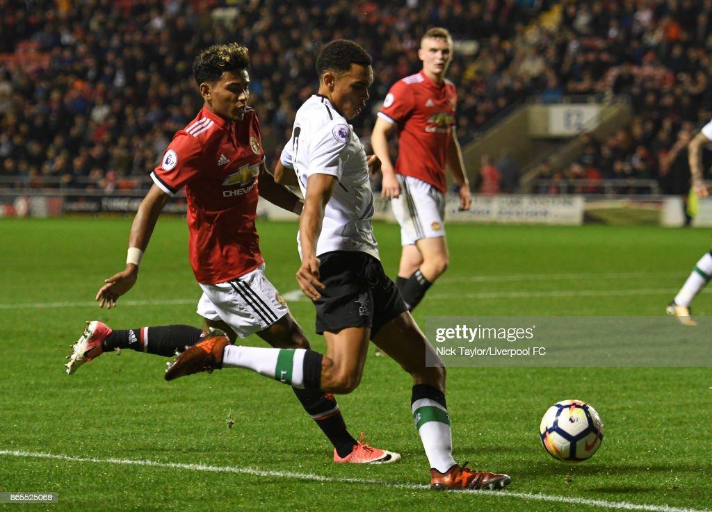 Manchester United v Liverpool: Premier League 2 : News Photo