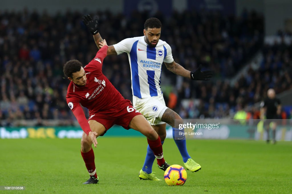 Brighton & Hove Albion v Liverpool FC - Premier League : News Photo