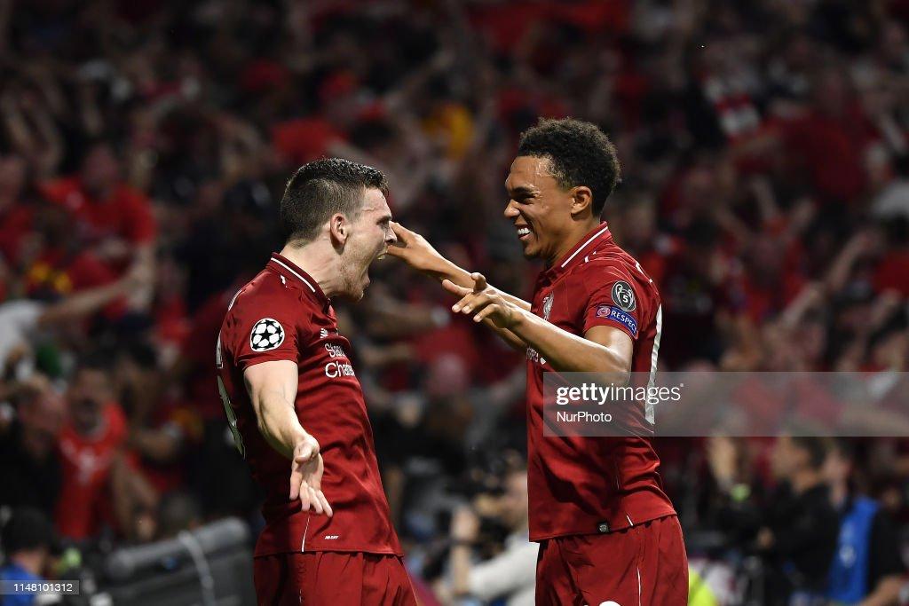 Tottenham Hotspur v Liverpool - UEFA Champions League Final : News Photo